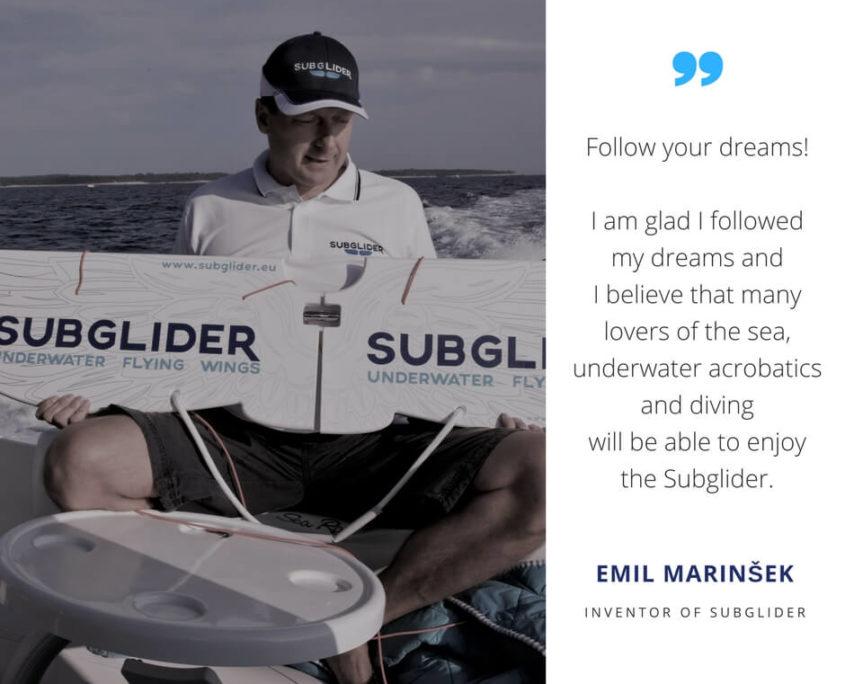 Subglider Emil Marinsek